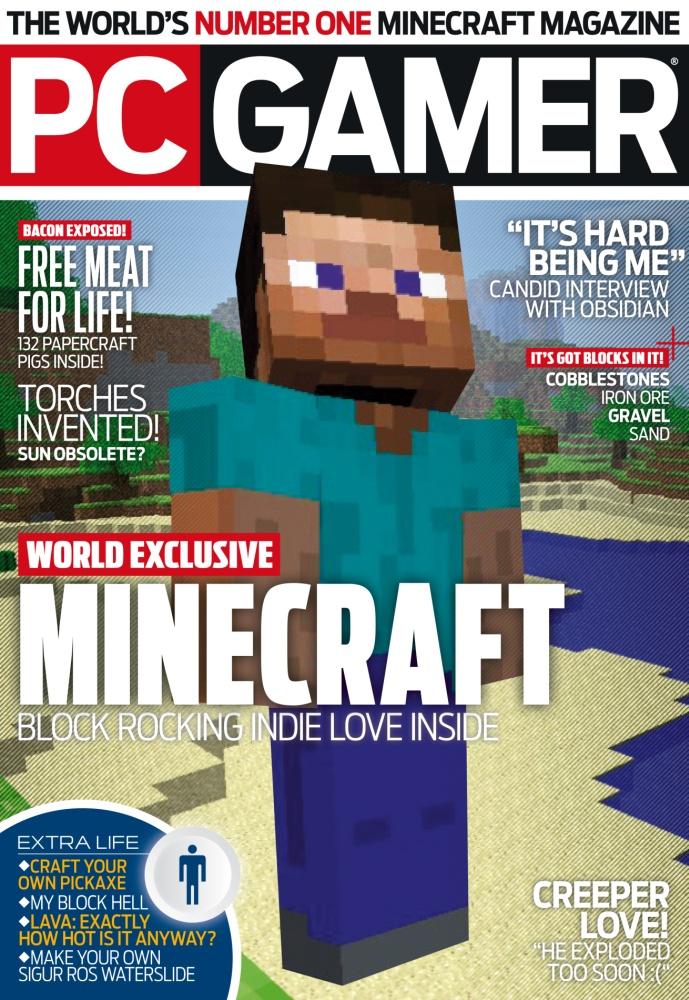 Minecraft PC Gamer